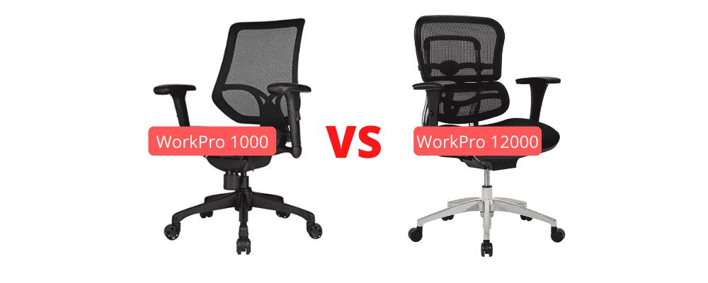 Work Pro 1000 vs 12000