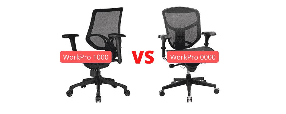 Work Pro 1000 vs 9000
