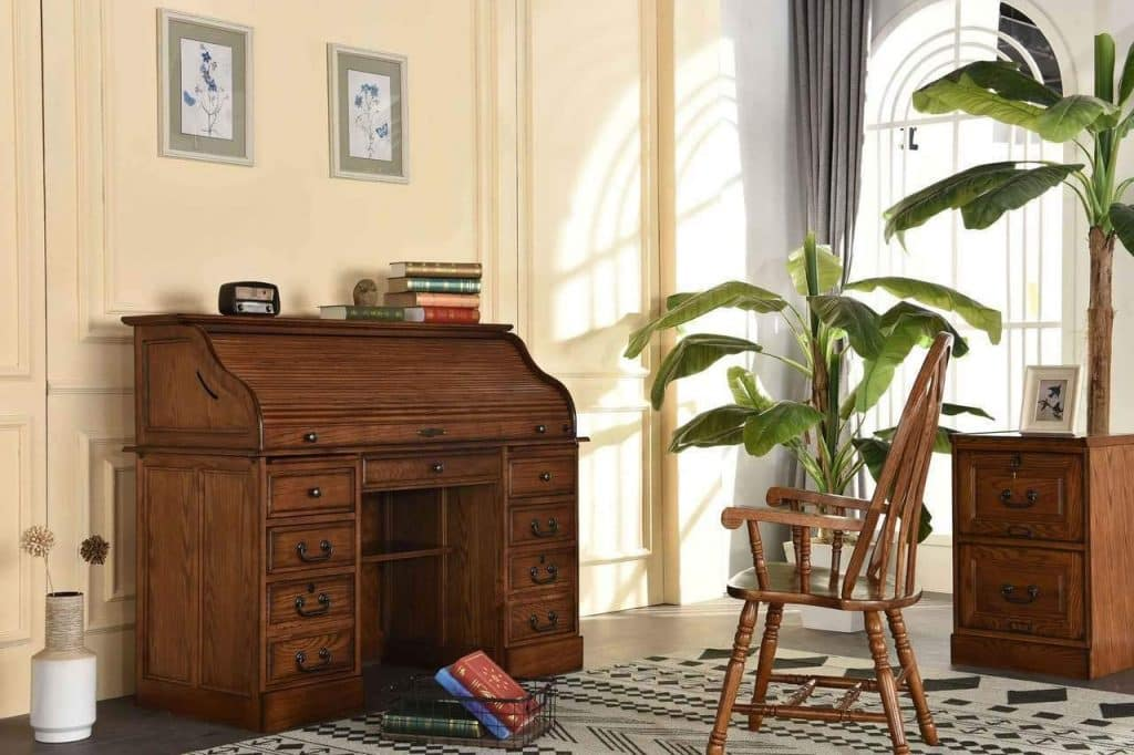 Is A Rolltop Desk Ideal For A Covid-era Home Office exampße image