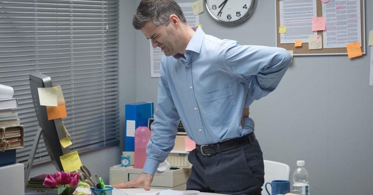standing desk disadvantages featured image