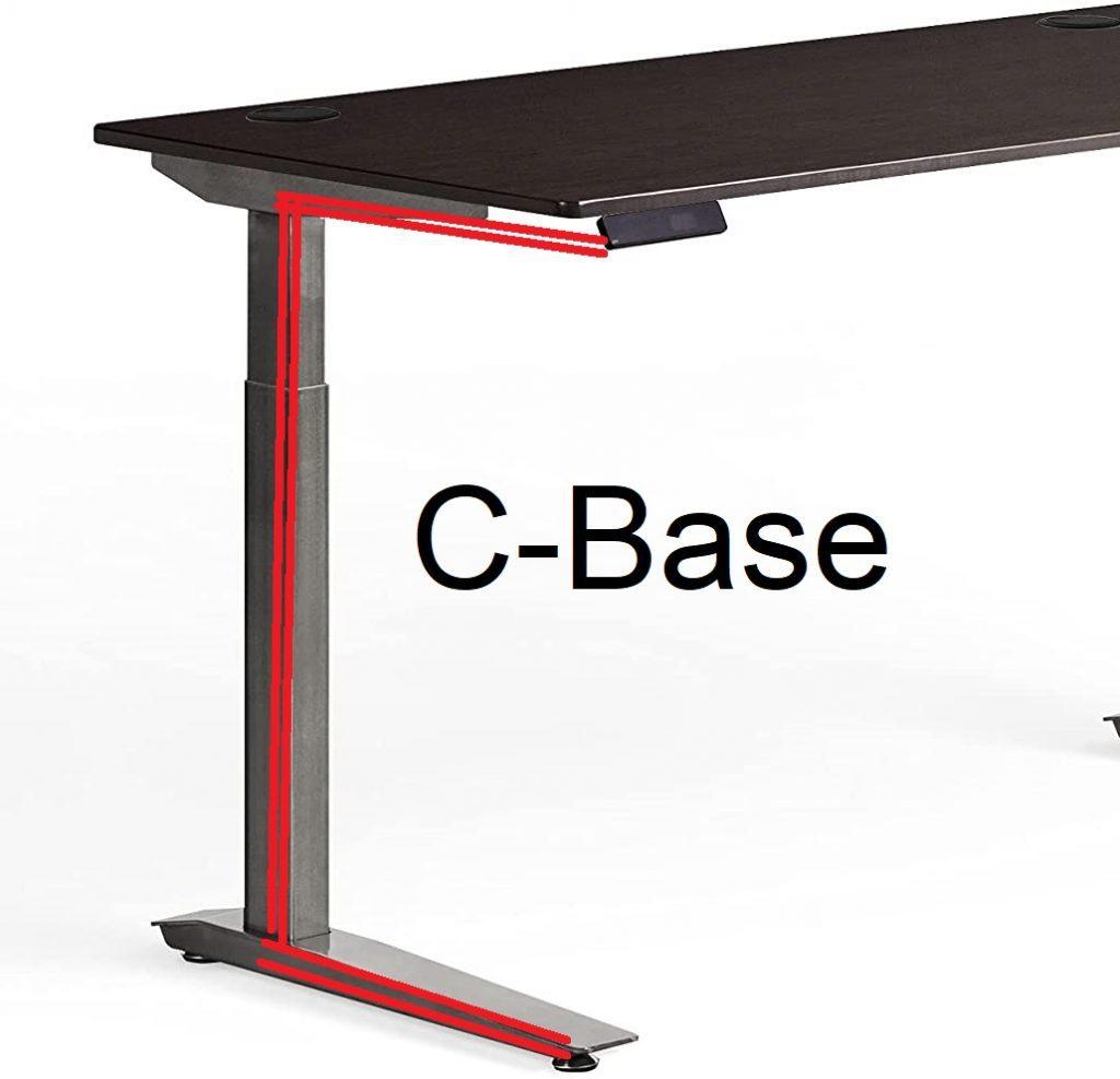 c-base desk frame