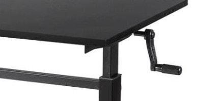 manual crank for standing desk